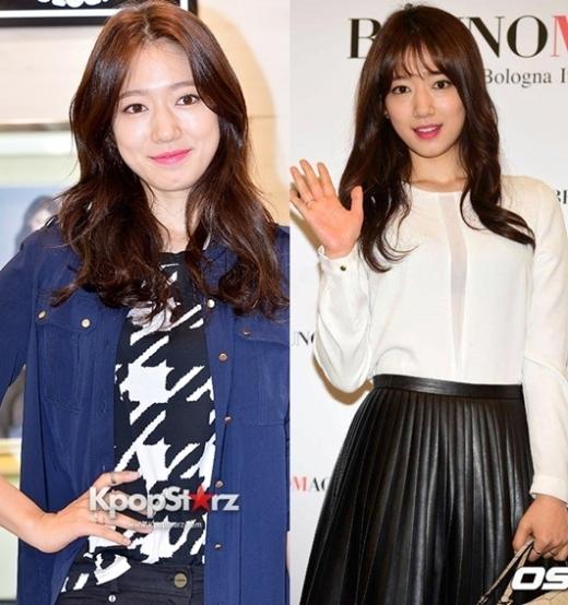 """Park Shin Hye cũng từng """"tập tành"""" để mái ngang cho """"bằng chị bằng xem"""". Cô nàng luôn thu hút sự quan tâm của khán giả nhờ vẻ ngoài """"mũm mĩm"""" cùng sự dịu dàng vốn có."""