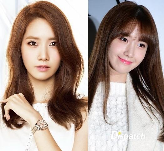 Kiểu tóc này cũng giúp Yoona (SNSD) trông đáng yêu hơn hẳn. Nhìn vào ít ai nghĩ năm nay nữ thần tượng sẽ bước sang tuổi 25.