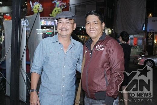 Đạo diễn Đức Thịnh và nam diễn viên Hoàng Sơn - Tin sao Viet - Tin tuc sao Viet - Scandal sao Viet - Tin tuc cua Sao - Tin cua Sao