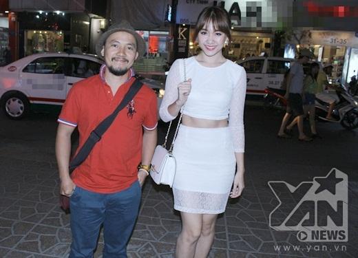 Hari Won tự tin khoe eo thon, sánh đôi cùng bạn trai rapper Đinh Tiến Đạt - Tin sao Viet - Tin tuc sao Viet - Scandal sao Viet - Tin tuc cua Sao - Tin cua Sao