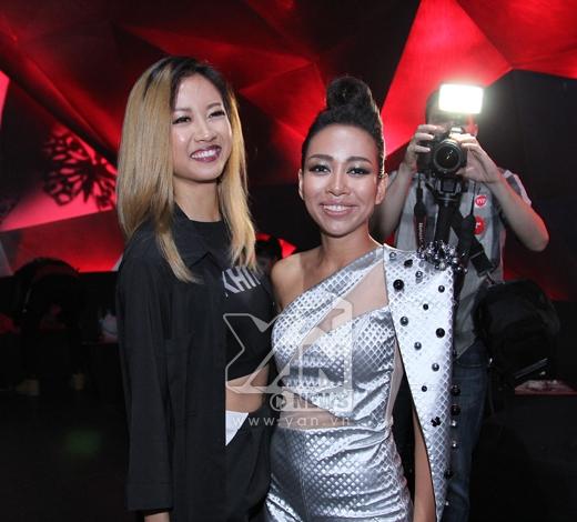 Ấn tượng nhất trong đêm diễn chính là phần thể hiện của rapper Suboi và ca sĩ Thảo Trang. - Tin sao Viet - Tin tuc sao Viet - Scandal sao Viet - Tin tuc cua Sao - Tin cua Sao
