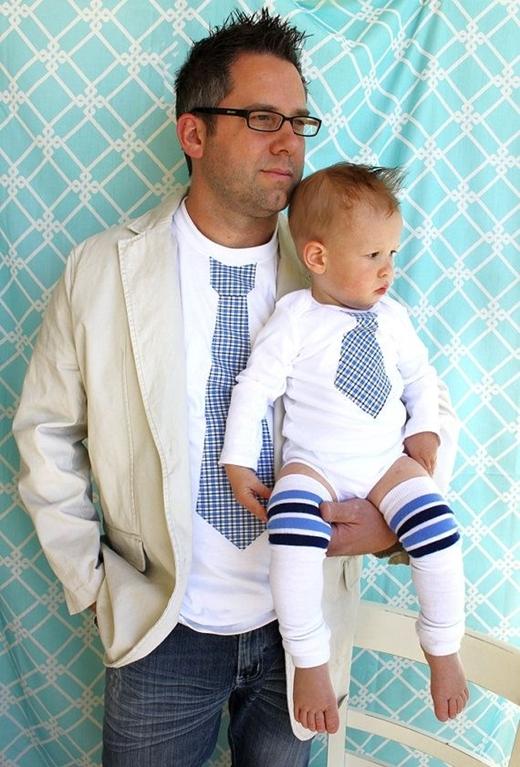 Xao xuyến với những cặp đôi cha nào con nấy cực dễ thương