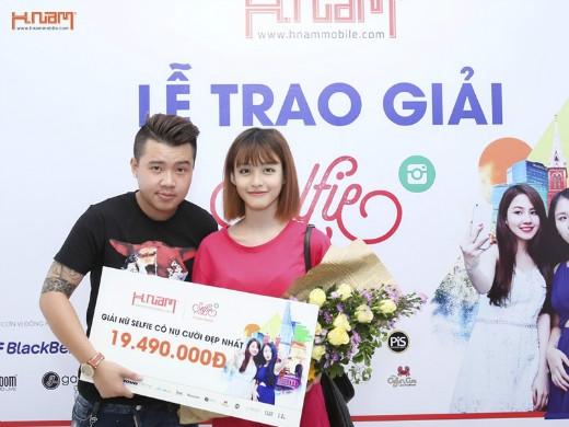 Đoạt giải Nữ selfie có nụ cười đẹp nhất trong cuộc thi Selfie Cùng Hnam là cơ hội để Minh Ngọc thực hiện ước mơ làm người mẫu ảnh từ nhỏ.