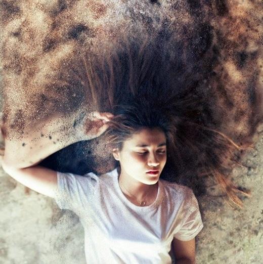Một bức ảnh với hiệu ứng tan biến được đánh giá cao vì tính nghệ thuật và sáng tạo.