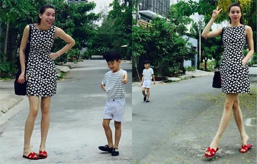 Hồ Ngọc Hà chia sẻ, cô và con trai Subeo tuy là hai thế hệ khác nhau nhưng đều có chung sở thích là dành thời gian cuối tuần để bên nhau. Có thể thấy, càng lớn Subeo càng được mẹ chăm sóc kỹ về phong cách thời trang của mình.