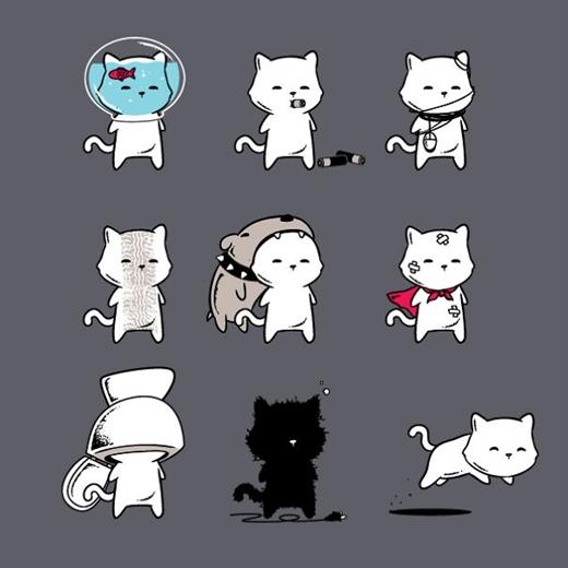 Bật cười với bộ ảnh thế giới loài mèo yêu-không-chịu-nổi