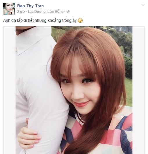 Fans xôn xao nghi án Bảo Thy có bạn trai - Tin sao Viet - Tin tuc sao Viet - Scandal sao Viet - Tin tuc cua Sao - Tin cua Sao