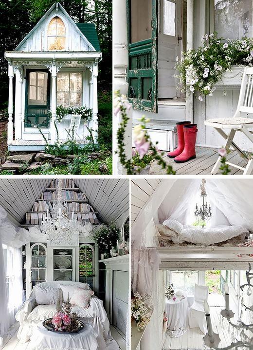 Ngôi nhà như trong truyện cổ tích.