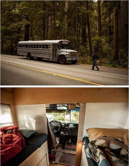 Nhà trên xe bus