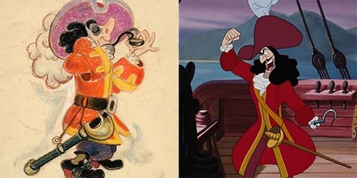 Thuyền trưởngHook trông 'ngộ' hơn bản chính thức rất nhiều
