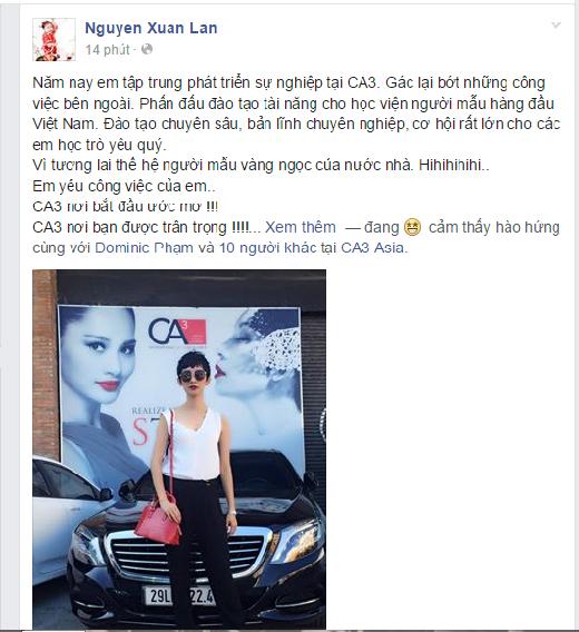 Thanh Hằng, Xuân Lan úp mở chuyện làm host VietNam's Next Top Model 2015