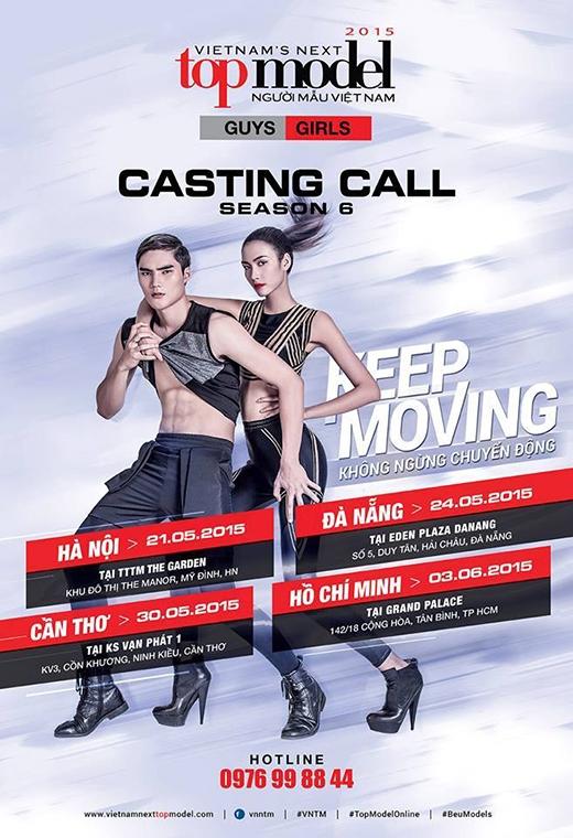 Poster casting mùa giải 2015