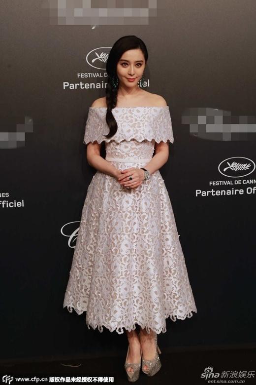 Phạm Băng Băng chi xấp xỉ 10 tỉ cho trang phục mặc tại LHP Cannes