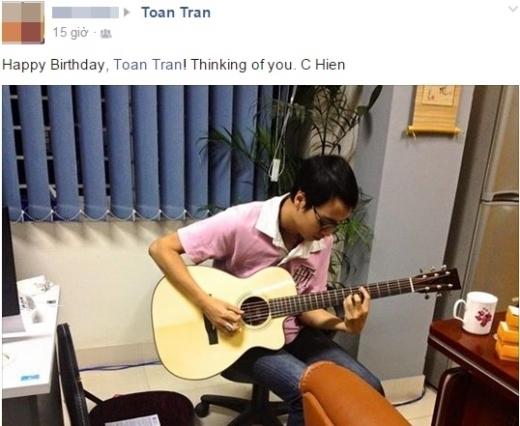 Cộng đồng mạng xúc động với những dòng chúc sinh nhật Toàn Shinoda