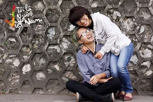 Bức ảnh về cặp đôi Nguyễn Hiên – Bi