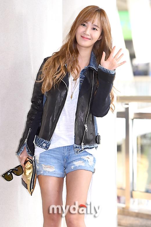 Yuri trông cực kỳ cuốn hút với tóc mới