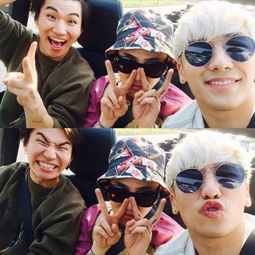 Big Bang tận hưởng thời gian vui vẻ khi đến Jeju quay MV