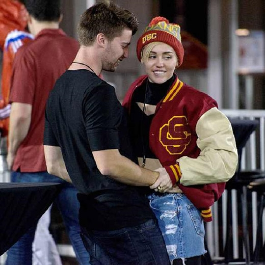 Miley và Patrick những ngày đầu hẹn hò