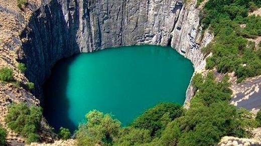 Hồ lớn Kimberley, Nam Phi