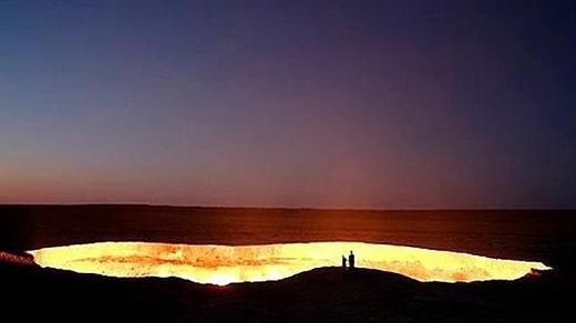 Cánh cổng Địa Ngục, Turkmenistan