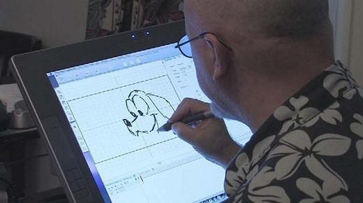Thiết kế đồ họa có mức lương trung bình 61.000 USD/năm nhưng họ làm việc khá thoải mái, chủ yếu là ở nhà.