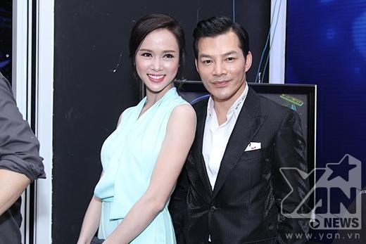 Trần Bảo Sơn và bạn diễn Vũ Ngọc Anh trong phim Quyên.