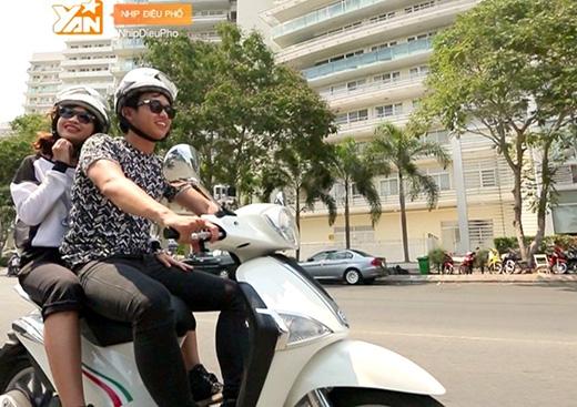 Kim Nhã - Quang Bảo ngọt ngào cùng người bạn đồng hành Liberty Go-Pro