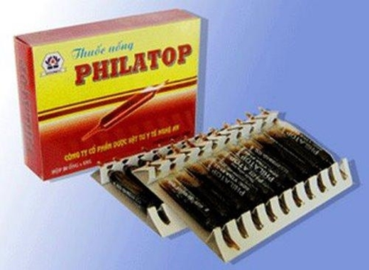 Nhớ ngày xưa mà cứ ốm là được uống thuốc philatop, nhiều khi không ốm cũng giả vờ ốm để được uống thuốc.