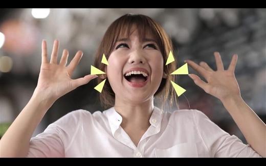 Cười ngất với loạt biểu cảm siêu đáng yêu của Hari Won khi ăn - Tin sao Viet - Tin tuc sao Viet - Scandal sao Viet - Tin tuc cua Sao - Tin cua Sao