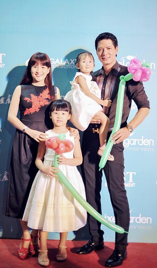 Vợ chồng Bình Minh và 2 cô công chúa nhỏ - Tin sao Viet - Tin tuc sao Viet - Scandal sao Viet - Tin tuc cua Sao - Tin cua Sao