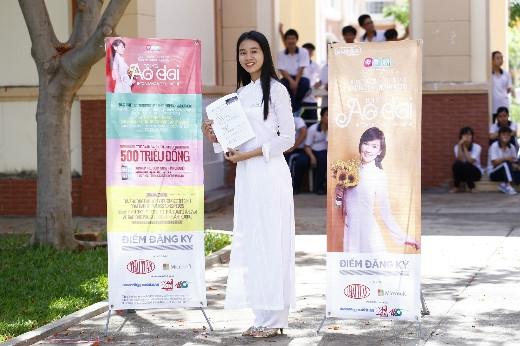 Hào hứng với chương trình Miss áo dài nữ sinh Việt Nam 2015