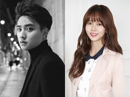 D.O (EXO) chính thức yêu Kim So Hyun