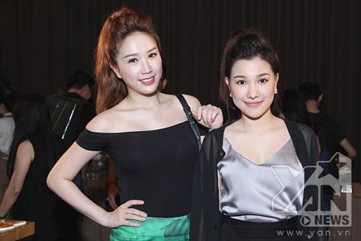 Hai chị em vô cùng thân thiết và yêu thương nhau - Tin sao Viet - Tin tuc sao Viet - Scandal sao Viet - Tin tuc cua Sao - Tin cua Sao