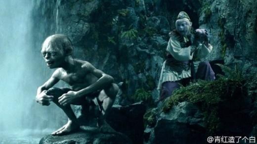 Tôn Ngộ Khôngvà Gollum có cơ hội giao lưu cùng nhau.
