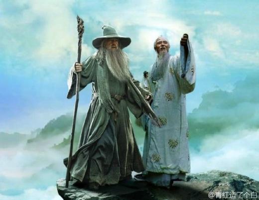 Thái Bạch Kim Tinh tâm đắc bên phù thủy Gandalf.
