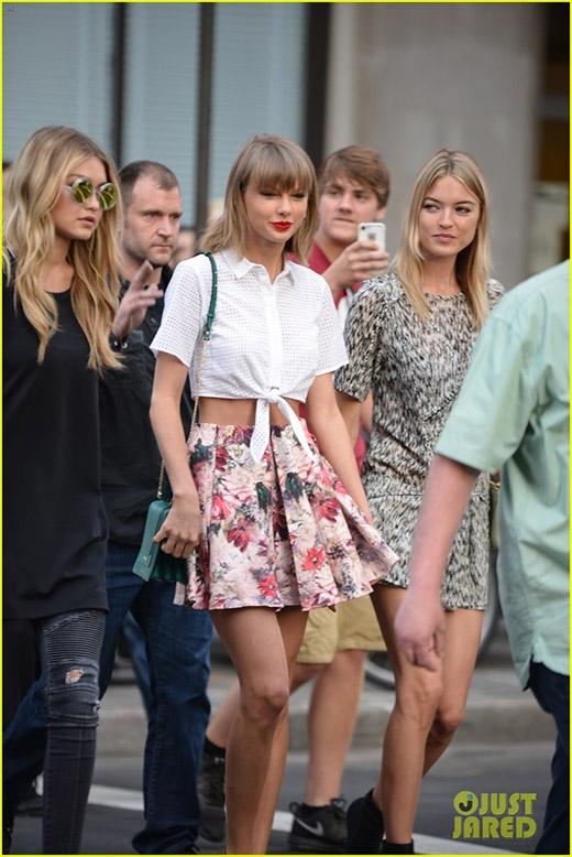 Những hình ảnh mới nhất của Taylor