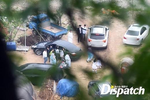 Họ hàng gia đình của Won Bin và Lee Na Young chỉ khoảng 50 người