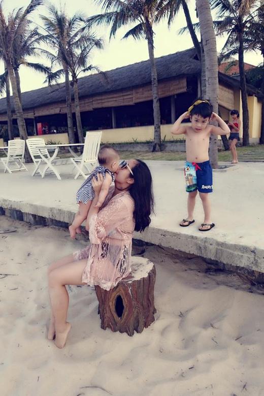 Hình ảnh mới nhất được chia sẻ trên trang cá nhân của nàng Ốc về chuyến đi nghỉ dưỡng tại Quảng Bình. - Tin sao Viet - Tin tuc sao Viet - Scandal sao Viet - Tin tuc cua Sao - Tin cua Sao