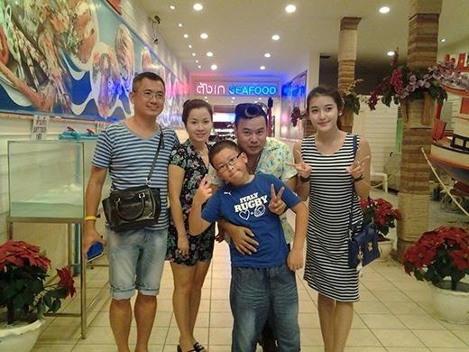Huyền My tranh thủ đi chơi Thái Lan cùng với cả gia đình - Tin sao Viet - Tin tuc sao Viet - Scandal sao Viet - Tin tuc cua Sao - Tin cua Sao
