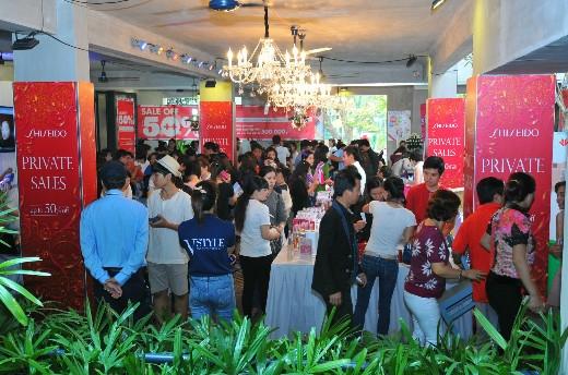 VStyle's Private Sale tại Tp. HCM đã thu hút gần 25.000 lượt người đến mua sắm