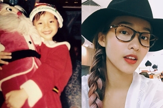 Từ nhỏ, cô nàng hot girlKhả Ngânđã sở hữu nét đáng yêu và dễ thương.