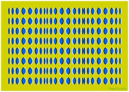 Những hình bầu dục màu xanh này cũng đang ngọ nguậy rất ảo diệu