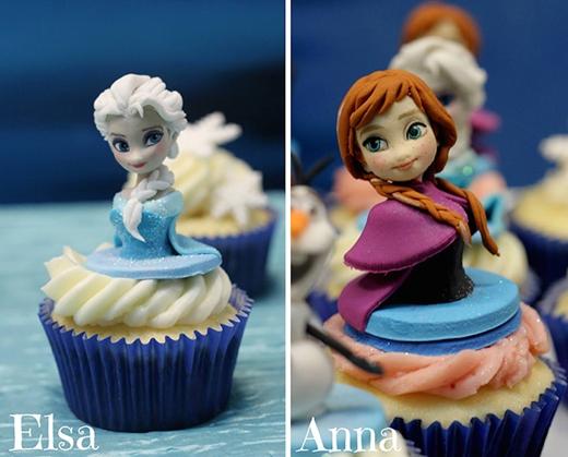 Hai cô nàng Elsa và Anna xinh đẹp