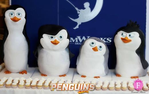 Biệt đội cánh cụt dễ cưng dễ nựng