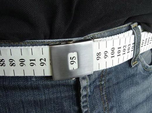 Thắt lưng kiêm thước đo vòng eo hết sức tiện lợi