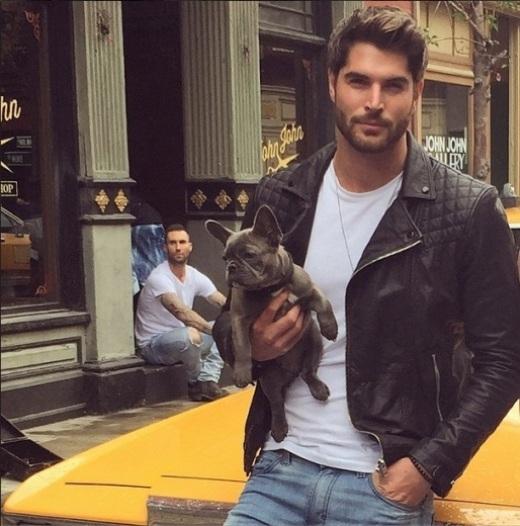 """""""Ngây ngất"""" với hình ảnh anh chàng đẹp trai chụp với thú cưng"""