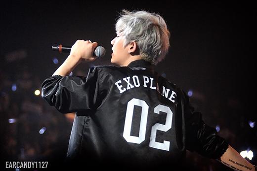 Fan sướng rơn khi được Chanyeol ghi tên trên sân khấu