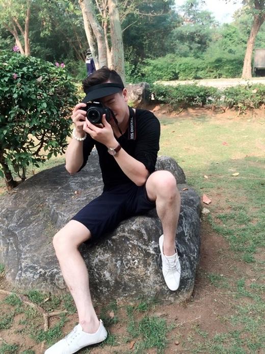 Tim Nguyễn còn yêu thích du lịch và chụp ảnh.