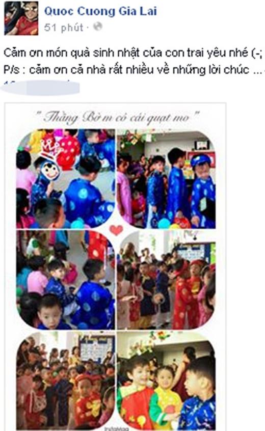 Sao Việt và quà sinh nhật mang ý nghĩa độc nhất vô nhị - Tin sao Viet - Tin tuc sao Viet - Scandal sao Viet - Tin tuc cua Sao - Tin cua Sao