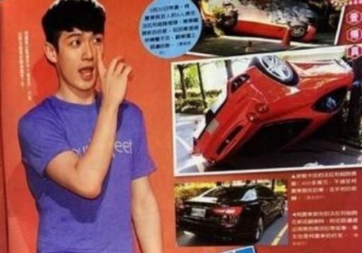 Kha Chấn Đông phủ nhận lái xe gây tai nạn, lộn nhào Ferrari giữa phố